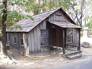 James Marshall cabin in Coloma California