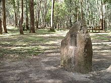 Stringybark creek memorial