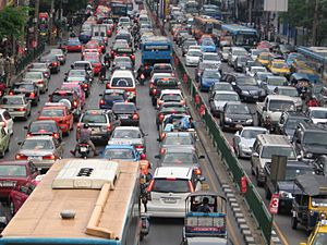 Bangkok traffic by g-hat
