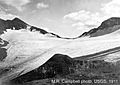 Chaney Glacier in 1911