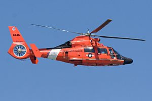 Coast Guard HH65C North Bend OR