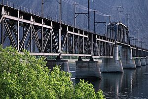 Milwaukee Road Bridge, Beverly WA