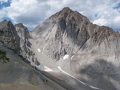 Castle Peak, White Cloud Mountains, Idaho