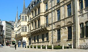 Grand Ducal Palace, Luxembourg 1