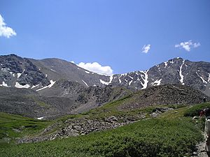 Grays and Torreys Peaks 2006-08-06