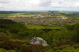 Guisborough from Highcliff Nab