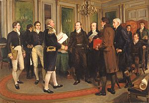 Signing of Treaty of Ghent (1812)