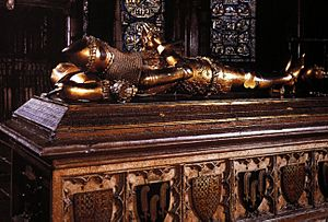 TOMB OF THE BLACK PRINCE, CANTERBURY CATHEDRAL