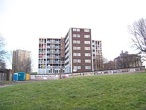 File-Carlton Towers (flats 1-49) prepared for demolition 002