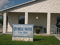 George West, TX, City Hall IMG 0974
