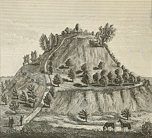 Cahokia monks mound McAdams 1887