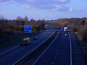 Motorway M11 Cambridge