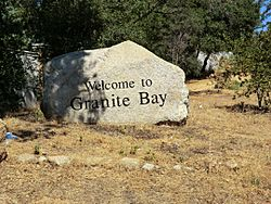 Welcome to Granite Bay sign