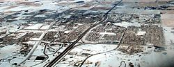 Aerial view of Airdrie