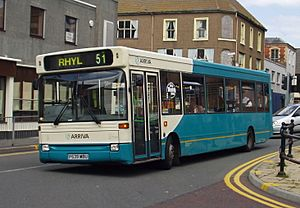 Arriva NWW Dart SLF Pointer 1