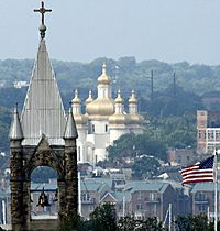Baltimore - church towers
