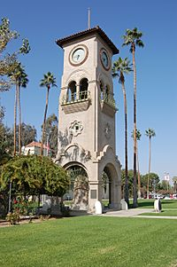 Image of the Beale Memorial Clock Tower's Exterior