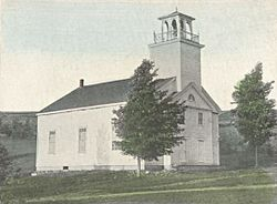 Deering Community Church (built 1829) c.1903