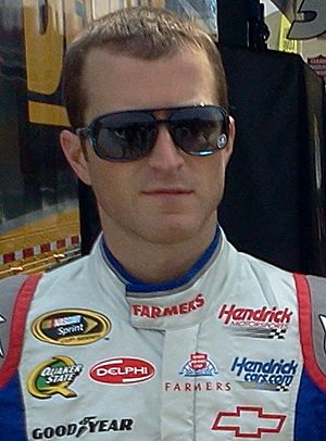 Kasey Kahne at Charlotte Motor Speedway in 2012 (cropped).jpg