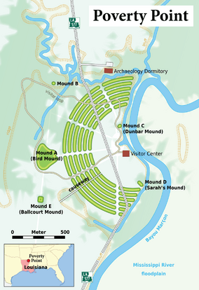 Louisiana - Poverty Point - Karte (English version).png