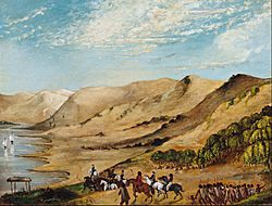 Major O'Halloran's expedition to the Coorong, August 1840 - Google Art Project
