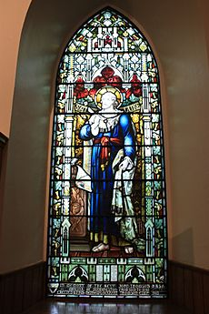 Memorial window to Rev John Thomson, Duddingston Kirk