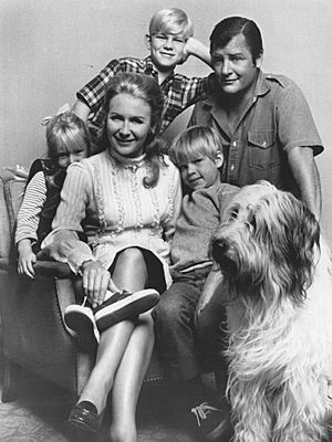 Nanny and the Professor cast 1969