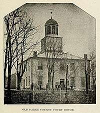 Parke County Courthouse 1832 to 1879