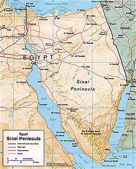 Sinai Peninsula Facts for Kids