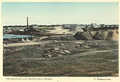 StateLibQld 2 258410 Brilliant and St. George Mill and works, Charters Towers, 1904