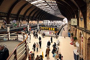 York station rush hour