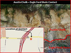 Austin Chalk -Eagle Ford Contact