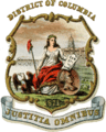 Coat of arms of Washington, D.C. (1876).png