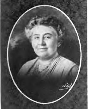 Mrs. Andrew Stewart Lobingier, 1922 President of the Friday Morning Club, Who's who among the women of California
