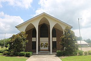Fairview Baptist Church, Coushatta, LA MG 6634