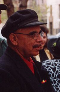 Harold Thomas, creator of the Aboriginal Flag (cropped)