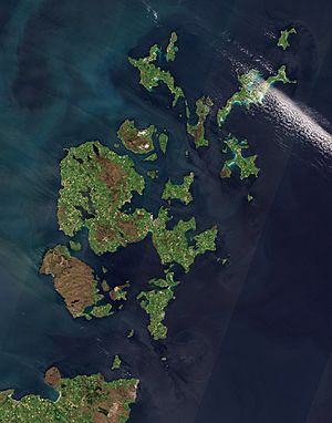 Orkney Islands by Sentinel-2