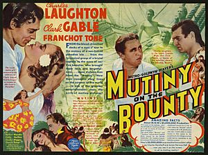 Poster - Mutiny on the Bounty (1935)