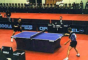 Competitive table tennis
