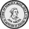 Official seal of Hancock, Massachusetts
