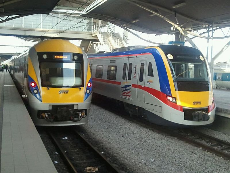 Ktmb class 91 and class 92 ipoh station