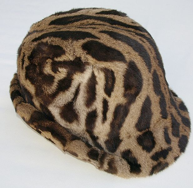 Ocelot fur hat