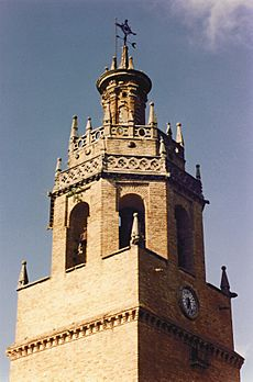 Ronda - Santa Maria la Mayor tower