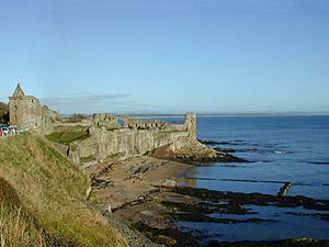 St Andrews Castle Scotland
