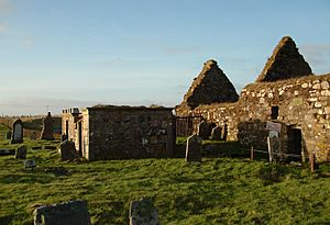 St Columbas Church, Aiginis, Isle of Lewis