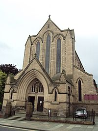 St Werburgh's RC Church, Grosvenor Park Road, Chester - DSC07981.JPG