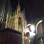 Altar at St. Mary's Episcopal Church