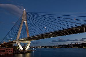 Anzac Bridge East