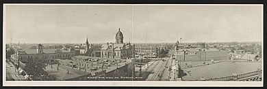 Bird's-eye view of Findlay, Ohio Date Created Published- Brooklyn, N.Y. - The Albertype Co. ; c.1906