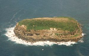 Bird Island NSW Aerial view 14-1-1996